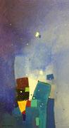 Early Snow, 50 x 80 cm, Acryl
