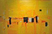 Bridges, 150 x 100 cm, Acryl