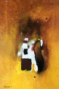 Touch of Caramel, 40 x 60 cm, Acryl   •   CHF 1 800.--