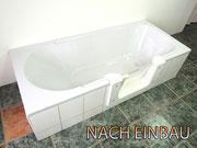 Badewanne mit Tür SenHILF