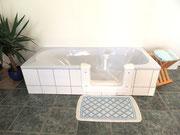 Badewannentür zum nachträglichen Einbau
