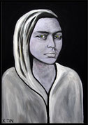 Katerina Golubeva (acrylique sur toile, 55x38cm)