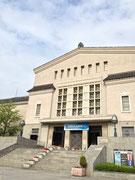 会場の大阪市立美術館です。