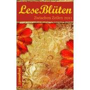 """LeseBlüten Zwischen Zeilen, 2011 (""""Mein Engel/Liebe Mama"""")"""