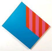 3. Instante (En eje) –  Tat Tvam Asi - Mutaciones del Espíritu - Acrílico sobre tela - 78 x 77 cm - 2020