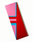 1. Tat Tvam Así – Tú eres eso – Mutaciones del Espíritu - acrilico sobre tela - 130 x 70 cm -2020
