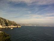 Super temps vue sur Marseilles