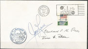 Launch cover Apollo 13 dated 11.04.1970, orig. sigend by Lovel and Rees, KSC cachet 6000 items issued