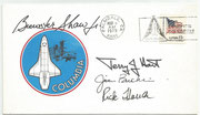 USA, Columbia Roll out 08.03.1979  orig.signed Brewster Shaw, Rick Hauck,Terry Hart and James Buchli