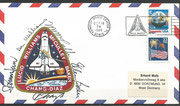 Launch cover STS-34 orig.signed by complete crew