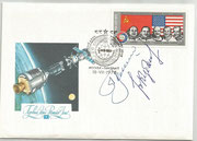 CCCP,Sojus 19 FDC orig.signed by Leonow and Kubassow with