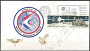 Apollo 15 Insurance cover, orig signed by J.Rhodes