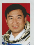 Shenzhou 6 photo from backup Taikonaut