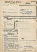 Order and confirmation of Demag in Duisburg of the 1260 Kg Iron and Steel to deliver in 3rd quater 1940 to Peenemünde