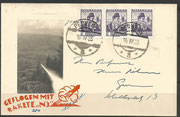 Notverordnungsrakete N3 from Schmiedl, dated 10.04.1935, oig.signed by Schmiedl, 80 flown items are known