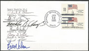 Launch cover STS-61C orig.signed by complete crew