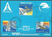STS-2 NASA Philatelic documentation card