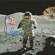 NASA Litho orig.signed by Cernan