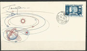Yuri Gagarin original signature on cover (with  CCCP 2473) ,Siegerserie, 1000 covers issued with signature