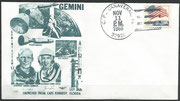Gemini 12 launch cover dated 11.11.1966