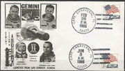 Gemini 9 launch cover dated 03.06.1966