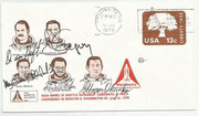 Cover  orig.signed candidates James van Hart (STS11), Frederick Gregory (STS 8 and STS 22), Guion Bluford (STS 8 and STS 22), Ronald McNair (STS 10 and STS 25) and Ellison Ouizuka (STS 15 and STS 25)