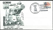 Gemini 8 launch cover dated 16.03.1966