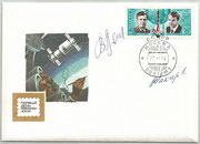 CCCP,Sojus 12 FDC orig.signed by Lasarew and Makarow with 4217