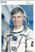 Ulf Merbold, ESA Litho orig- handsigned by Dr. Merbold