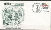 Gemini 7 launch cover dated 04.12.1965