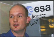 ESA Astronaut Alexander Gerst, choosen for the flight Sojus TMA-13M, photo orig.signed by Gerst