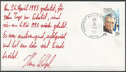 Launch cover Space Shuttle STS-55 (D2) with orig. personal impressions of Hans Schlegel