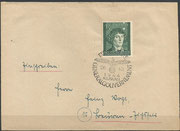 Cover from Krakau to Germany dated 26.10.1944 with the special stamp from Generalgouvernement 96