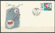 CCCP, Wostok 4 Pawel Popowitsch  orig.sigend on cover with 2635 A, Siegerserie