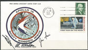 Apollo 15, moonlanding cover dated 30.07.1971, orig.signed by Irwing, Scott and Worden