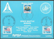 STS-49 NASA Philatelic documentation card