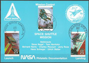STS-55 NASA Philatelic documentation card