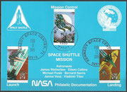 STS-63 NASA Philatelic documentation card