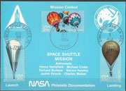 STS-41D NASA Philatelic documentation card