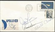 Apollo 8 lauch cover dated 21.12.1968 orig. signed by complete crew Lovell, Borman and Anders, KSC cachet 18700 items issued