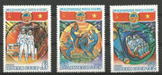 CCCP, Sojus 37 stamps 4978/80