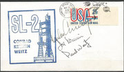 Launch cover Skylab 2 orig. signed by complete crew, KSC cachet ca.10000 issued