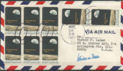Recovery cover Apollo 10, dated  26.05.1969 cancel Chicago, orig. signed by Werner von Braun