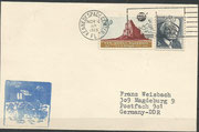 Launch cover Apollo 12, KSC cachet issued 3929 items, machine cancelled