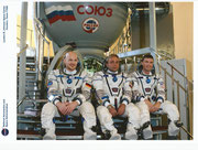 Sojus TMA-13M, photo of the complete crew