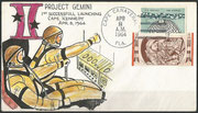 Gemini 1 launch art cover dated 08.04.1964