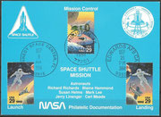 STS-64 NASA Philatelic documentation card