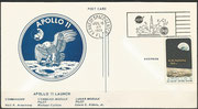 Lanch cover Apollo 11 on 16.7.1969