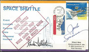 30.3.1982,landing of STS-3 in White Sands/New Mexico, orig.signed by complte crew