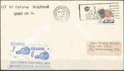 Gemini 6A launch  cover dated 15.12.1965, negative KSC cachet, the positive cachet was much less issued